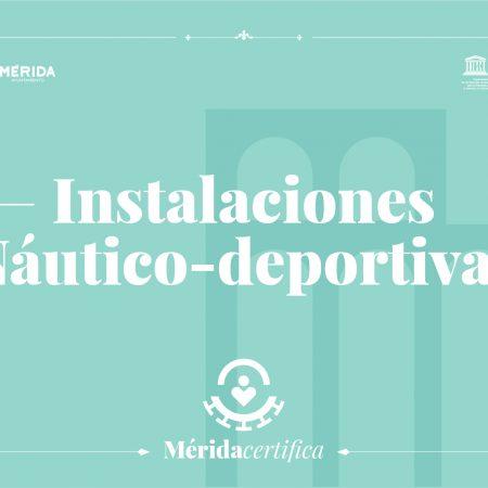 INSTALACIONES NÁUTICO-DEPORTIVAS